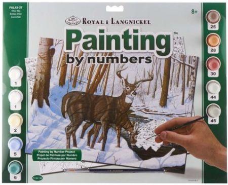 R&L,USA #  WINTER BLISS - Рисуване по номера  А3- * PAL43