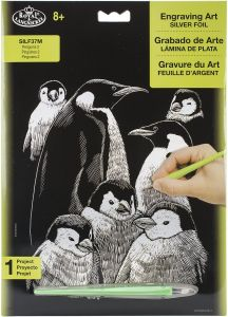 R&L,USA Engraving Art А4 - Картина за гравиране SILF37