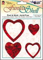 FANSEA SHELLS  # LOVE HEARTS -  Седефени сърца / рамки