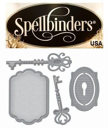 Spellbinders USA NEW - К-кт шаблони за изрязване и ембос s2-224