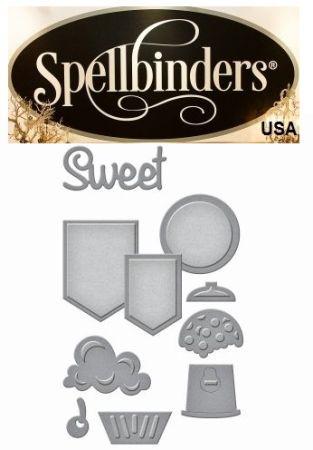 Spellbinders USA NEW - К-кт шаблони за изрязване и ембос s2-202