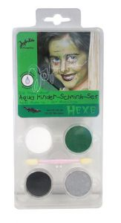 Aqua Make-up set ,Germany  - Комплект бои за лице тяло + четка, WITCH