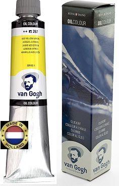 VAN GOGH OIL - Маслена боя 200 мл. - Жълта лимон / 267