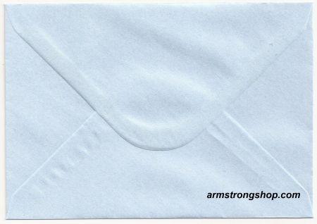 CENTURA ENVELOPES C6 England - Перлени пликове 114 X 162 мм. BABY BLUE