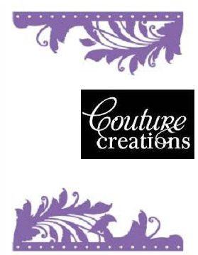 COUTURE CREATIONS FOLDER  -Папка за релеф(ембос)