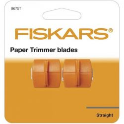 FISKARS 2 Pack Cutting TRIMMER Blades - Резервни ножове за тример  fsk4153 (A3) и fsk9893 (A4)