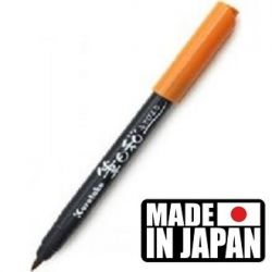 FUDEBIYORI BRUSH PEN * JAPAN - маркер четка LIGHT BROWN