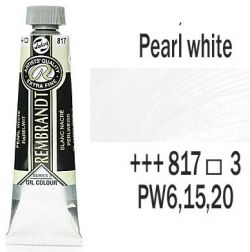 REMBRANDT Екстра Фини Маслени Бои 40 мл. - Pearl White 3, № 817