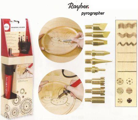 PYROGRAPHER by RAYHER - Хоби комплект пирограф ОРИГИНАЛЪТ