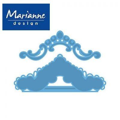Marianne Design - Шаблон за рязане и ембос lr0319
