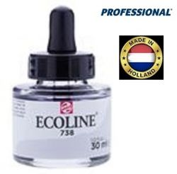 ECOLINE PROFESSIONAL 30ml - Течен акварел 738 /  COLD GREY LT