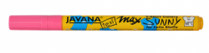 JAVANA TEXI MAX  FINE- Маркери 1-2 мм за светла основа - PINK