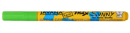 JAVANA TEXI MAX  FINE- Маркери 1-2 мм за светла основа - LT GREEN