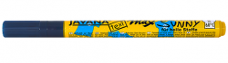 JAVANA TEXI MAX  FINE- Маркери 1-2 мм за светла основа - BLUE
