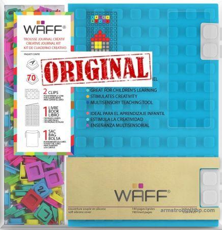 WAFF DESIGNER JOURNAL A6 - Креативен комплект Дизайнерски бележник Kristins Canada