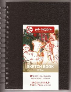 TALENS SKETCHBOOK 14 x 21 -  спирала  A5 80 листа / 110гр