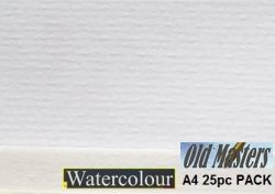 OLD MASTERS Watercolour PAPER 270g - АКВАРЕЛНA ХАРТИЯ 25л / A4