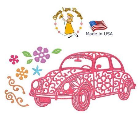 AUTO DIE by Cheery Lynn USA - Шаблони за рязане и ембос / b552