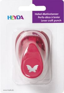 HEYDA Punch  17mm - Дизайн пънч ПЕПЕРУДА S