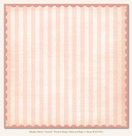 MME LOVELY FRENCH GLITTER card ,USA 12 X 12  - Дизайнерски скрапбукинг картон с брокат 30,5 х 30,5 см.