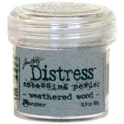 `Distress` Ембос Пудра  - Weathered wood