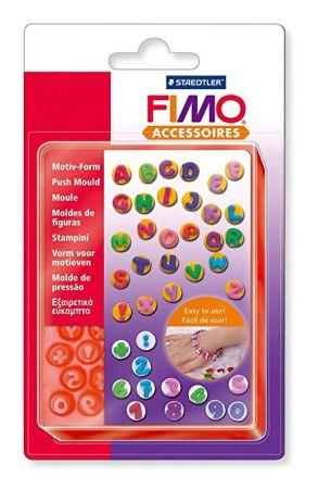 FIMO PUSH MOULDS - СИЛИКОНОВИ форми 3D отливки  БУКВИ