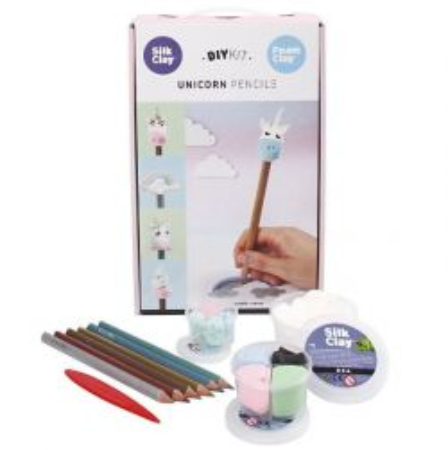 "DIY KIT - Unicorn Pencils - К-кт ""Направи си сам"""