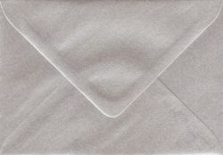 CENTURA ENVELOPES C6 England - Перлени пликове 114 X 162 мм. PLATINUM/SILVER