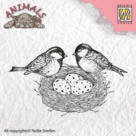 "Animals ""birdsnest"" ANI013  - Дизайн прозрачен печат"