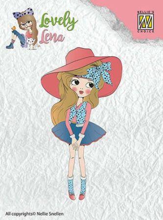 """Lovely Lena """"Pretty Lena"""" CSLL001  - Дизайн прозрачен печат"""