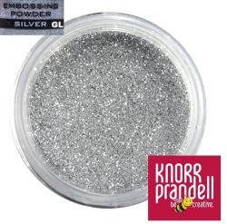 KNORR EMBOSSING POWDER , USA - Фина ембосинг пудра  GLITTER SILVER
