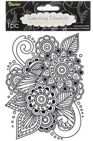DARICE - Ембос папка, 108 х 146 мм. Henna