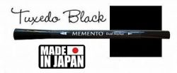 MEMENTO BRUSH MARKER , Japan - Двувърх маркер ЧЕТКА - TUXEDO BLACK