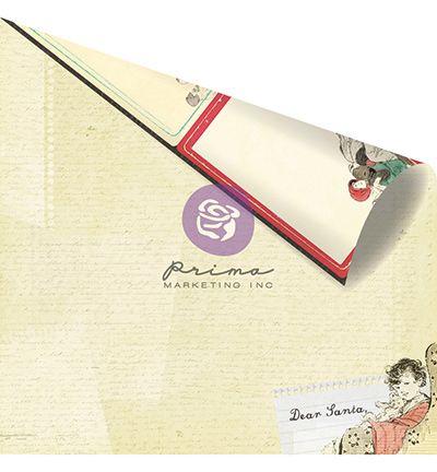 PRIMA USA MOULIN ROUGEMUSIC HALL 12 X 12  - Дизайнерски скрапбукинг картон 30,5 х 30,5 см.