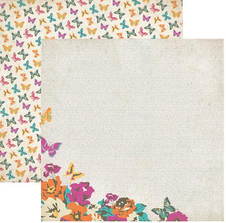 AUTHENTIQUE USA #  - Дизайнерски скрапбукинг картон 30,5 х 30,5 см.