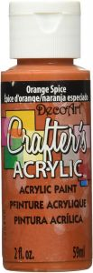 CRAFTERS ACRYLIC USA 59 ml - Orange Spice