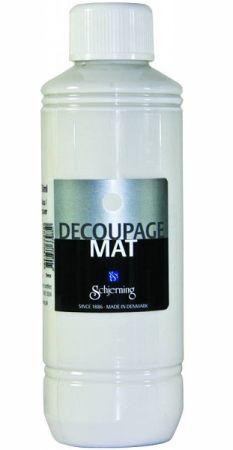 DECOUPAGE glue, SHERNJING - Декупажно лепило 250мл. САТЕН - МАТ