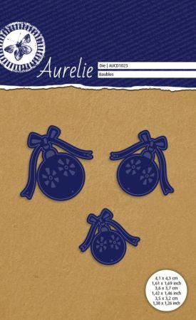 AURELIE BAUBLES Die  - Фигурална щанца за рязане и релеф