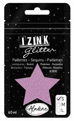 IZINK GLITTER S - Диамантен брокат за декорация 60ml ROSE 1