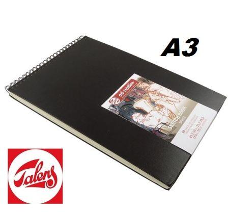 TALENS SKETCHBOOK 29.7 x 42 -  спирала  A3 80 листа / 110гр