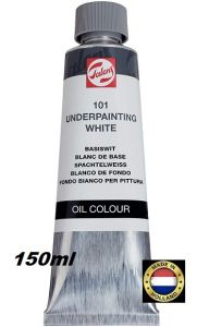 TALENS UNDERPAINTING WHITE OIL 150ml  -  Маслена Основа за релеф БЯЛА