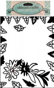 DELUXE Embossing Folder Simple Elegance - Папка за релеф 15х11 см.