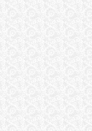 TRANSPARENT PAPER LACE А4 - Паус на сърца 115г WHITE