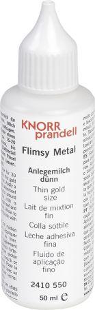 Metal Leaf Adhesive Flimsy Metal transparent - Релефен контур/лепило за позлата 50мл