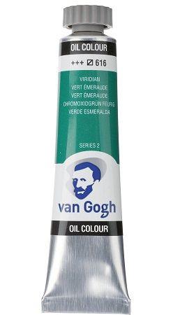 Van GOGH Oil ser2 - Маслена боя 20мл - Смарагдова Зелена / 616