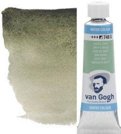 VAN GOGH WATERCOLOUR TUBE - Екстра фин акварел  # davys grey 748 G