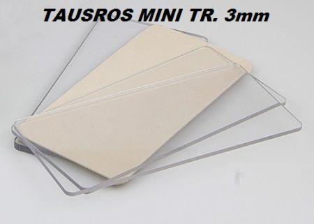 TAUROS TR PLATE 3mm  - ПРОЗРАЧНА ПОДЛОЖКА 3мм