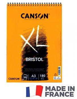 SPIRAL PAD CANSON 50SH XL A3 -  Блок за рисуване BRISTOL 50Л / А3