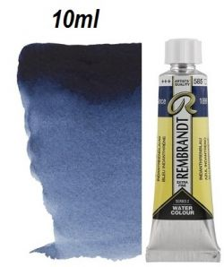 "REMBRANDT WATERCOLOUR TUBE 2 - Екстра фин акварел `ТУБА""  10ml INDATHRENE BLUE"