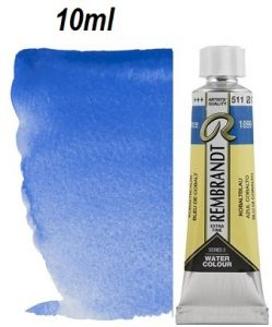 "REMBRANDT WATERCOLOUR TUBE 3 - Екстра фин акварел `ТУБА""  10ml COBALT BLUE"